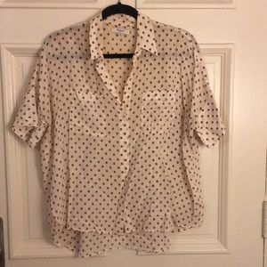 Madewell silk shirt
